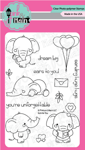 Pink & Main - EARS TO YOU - Stamps Set
