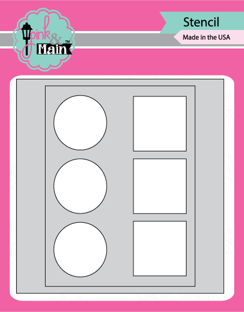 Pink & Main -  MASK IT IN-LINE  - Stencil