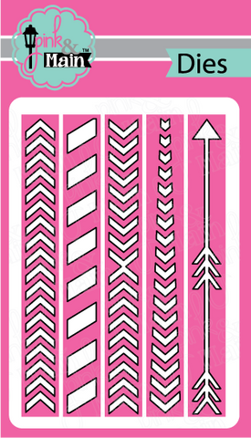 Pink & Main - DIRECTIONAL BORDER - Dies
