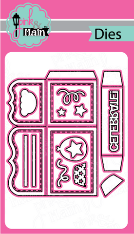 Pink & Main - BOX CARD - Die Set