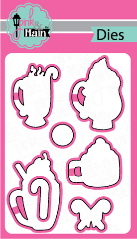 Pink & Main - CHRISTMAS MUGS - Die Set