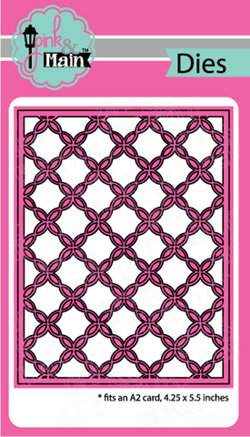 Pink & Main - FANCY LATTICE COVER - Die