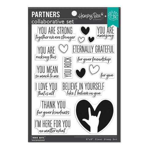 Honey Bee/Hero Arts - YOU ARE AMAZING - Collaborative Stamp Set