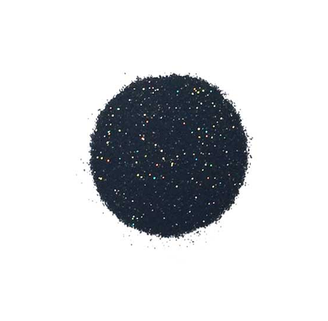 Hero Arts - Embossing Powder - BLACK SPARKLE 1oz. - Hallmark Scrapbook