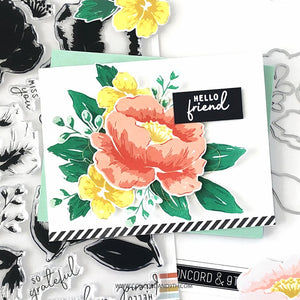 Concord & 9th - PAINTED PEONY - Dies Set