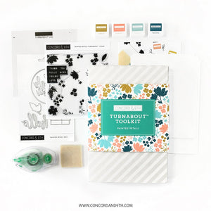 Concord & 9th - PAINTED PETALS Turnabout TOOL KIT