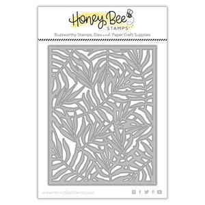 Honey Bee Stamps - PALM FROND COVER PLATE - Die