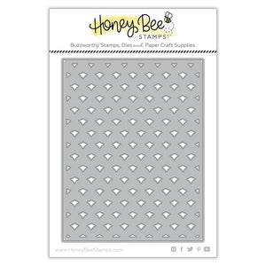 Honey Bee Stamps - PINEAPPLE LATTICE Cover Plate BASE - Die