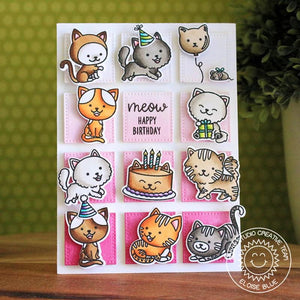 Sunny Studio - PURRFECT BIRTHDAY - Die Set