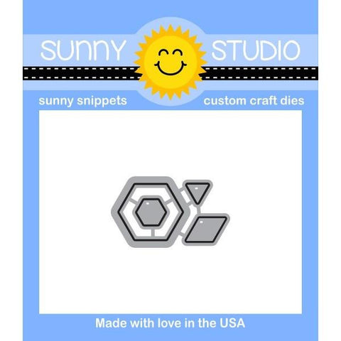 Sunny Studio - QUILTED HEXAGONS - Die