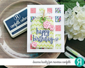 Reverse Confetti - SENTIMENT ESSENTIALS - Stamp Set