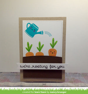 Lawn Fawn - SIMPLE STITCHED HILLSIDE BORDERS - LAWN CUTS dies 3 pc - Hallmark Scrapbook - 7