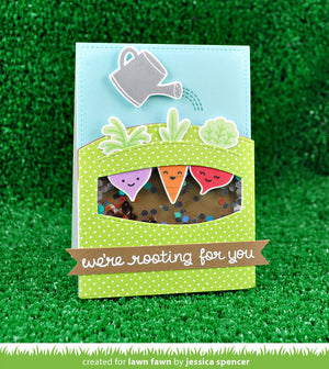 Lawn Fawn - SIMPLE STITCHED HILLSIDE BORDERS - LAWN CUTS dies 3 pc - Hallmark Scrapbook - 6