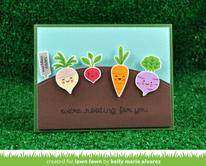 Lawn Fawn - SIMPLE STITCHED HILLSIDE BORDERS - LAWN CUTS dies 3 pc - Hallmark Scrapbook - 2