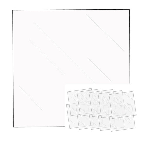 We R Memory Keepers - FUSE CLEAR SHEETS - 10pk 12x12 - Hallmark Scrapbook