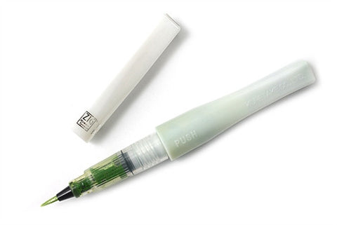 ZIG - Memory System - Wink Of Stella - Glitter Brush Marker - Glitter LIGHT GREEN - Hallmark Scrapbook - 1