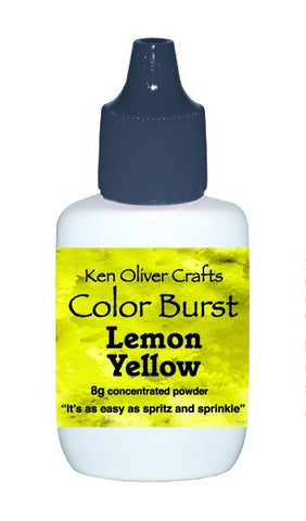 Ken Oliver Crafts - Color Burst - LEMON YELLOW - Hallmark Scrapbook - 1