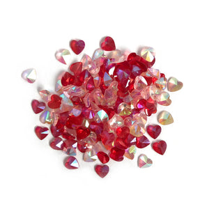 Buttons Galore and More - Sparkletz - LOVE HEARTS
