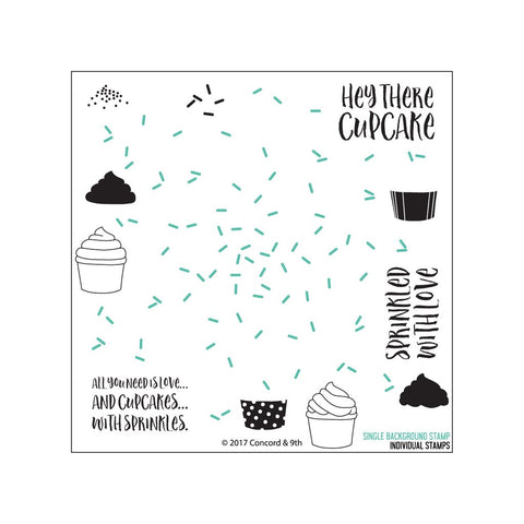 Concord & 9th - SPRINKLES TURNABOUT Background Stamps set