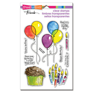 Stampendous - BALLOONS AND MORE - Clear Stamps Set