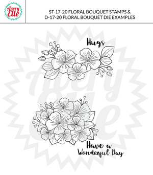 Avery Elle - FLORAL BOUQUET - Elle-Ments Die Set