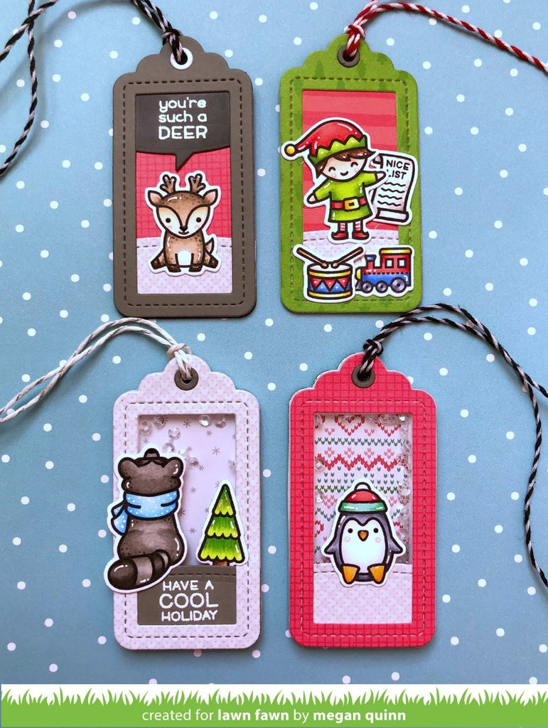 Lawn Fawn - SAY WHAT? CHRISTMAS CRITTERS - Stamp set – Hallmark ...