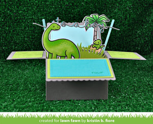 Lawn Fawn - SCALLOPED BOX CARD POP-UP - Lawn Cuts DIES