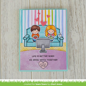 Lawn Fawn - SCREEN TIME - Stamp Set