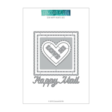 Concord & 9th - SEW HAPPY HEARTS Dies set
