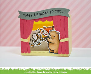 Lawn Fawn - SHADOW BOX CARD THEATER ADD-ON - Lawn Cuts DIES