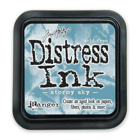 Tim Holtz Ranger Distress Ink Pad - Stormy Sky