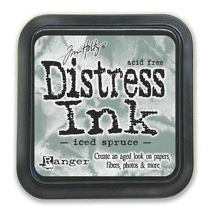 Tim Holtz Ranger Distress Ink Pad - ICED SPRUCE