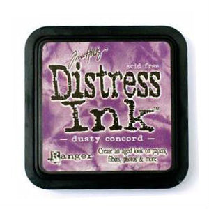 Tim Holtz Ranger Distress Ink Pad - Dusty Concord - Hallmark Scrapbook - 1