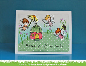 Lawn Fawn - SIMPLE STITCHED HILLSIDE BORDERS - LAWN CUTS dies 3 pc - Hallmark Scrapbook - 8