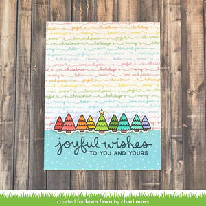 Lawn Fawn - SIMPLY WINTER SENTIMENTS Stamps Set