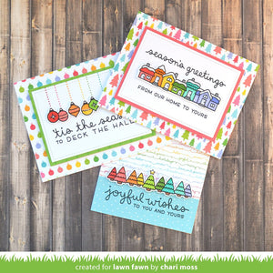 Lawn Fawn - SIMPLY CELEBRATE WINTER Stamp Set