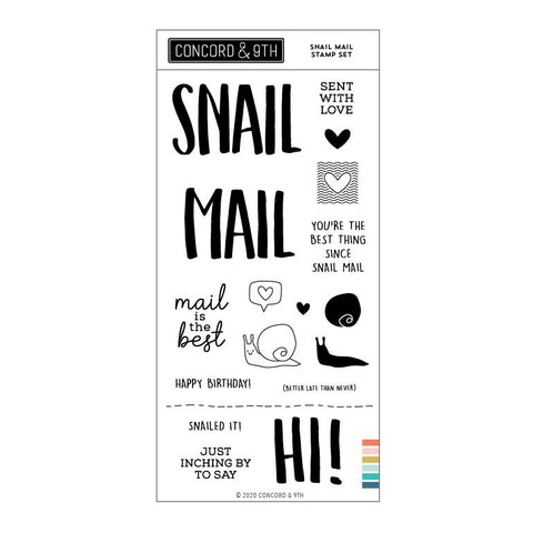 Concord & 9th - SNAIL MAIL - Stamps Set