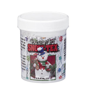 Deco Art - SNOW-TEX- 4oz - Hallmark Scrapbook