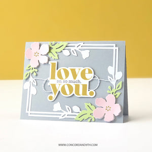 Concord & 9th - THINKING OF YOU PERFECT PAIRINGS - Stamps Set