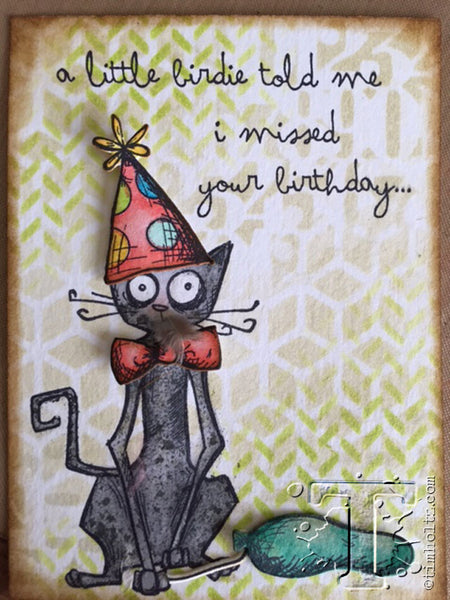 Tim Holtz Dog And Cat Stamp Ideas