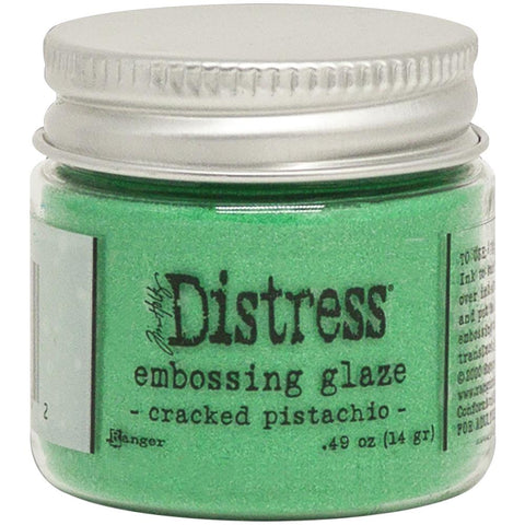 Tim Holtz - Distress Embossing Glaze - CRACKED PISTACHIO
