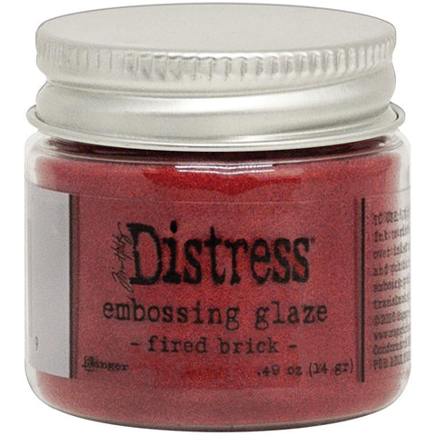 Tim Holtz - Distress Embossing Glaze - FIRED BRICK