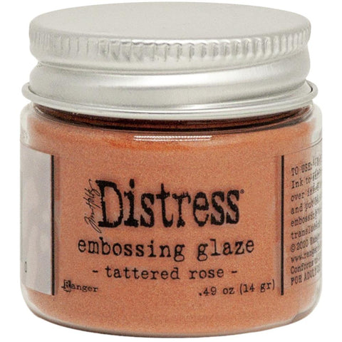 Tim Holtz - Distress Embossing Glaze - TATTERED ROSE