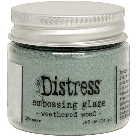 Tim Holtz - Distress Embossing Glaze - WEATHERED WOOD