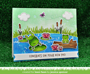 Lawn Fawn - TOADALLY AWESOME - Lawn Cuts Dies