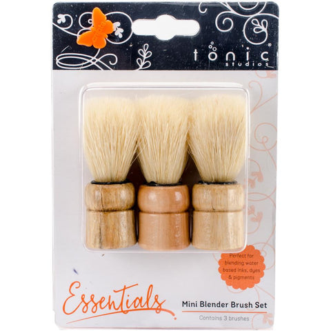 Tonic - MINI BLENENDING BRUSH Set of 3 - Hallmark Scrapbook