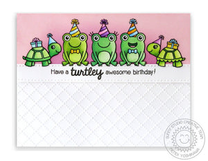 Sunny Studio - FROGGY FRIENDS - Dies Set - Hallmark Scrapbook - 6