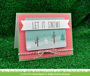 Lawn Fawn - Violet's ABC's - CLEAR STAMPS 73pc - Hallmark Scrapbook - 2