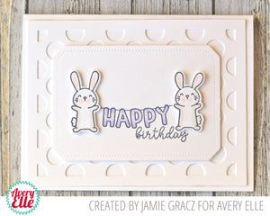 Avery Elle - PARTY PALS - Clear Stamps