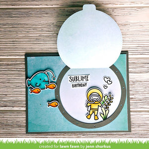Lawn Fawn - YOU ARE SUBLIME - Stamp Set